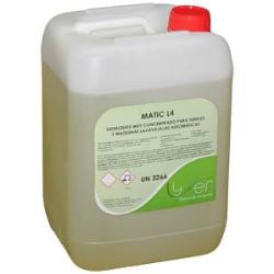 Detergente lavavajillas Lyfer Matic L4 12Kg