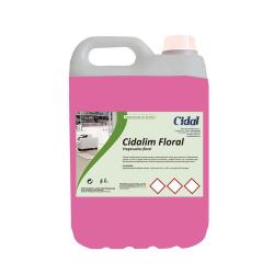 Limpiador neutro para suelos Cidalim FLoral 5L