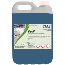 Limpiador amoniacal concentrado Cidal Dasil 5L