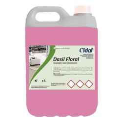 Limpiador multiusos neutro Dasil Floral 5L