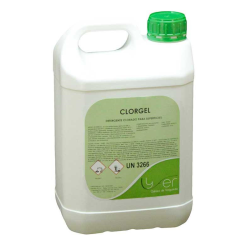 Limpiador higienizante clorado Lyfer Clorgel 5Kg