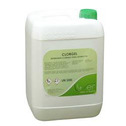 Limpiador higienizante clorado Lyfer Clorgel 10Kg