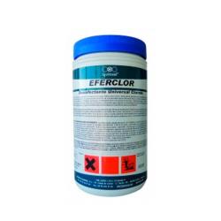 Desinfectante clorado en pastillas Eferclor 1Kg