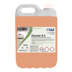 Desengrasante sin espuma Cidal Desma A-L 5L