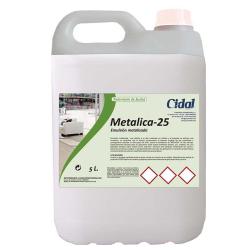 Emulsión para suelos Cidal Metalica-25 5L