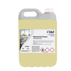 Ambientador Cidal  Manantia aroma limón 5L