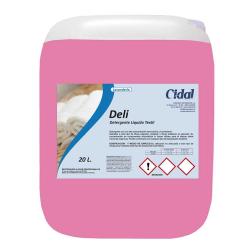 Detergente líquido textil Cidal Deli 20L