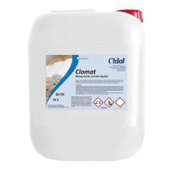 Detergente blanqueante clorado Cidal Clomat 24kg