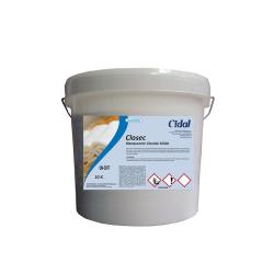 Blanqueante clorado sólido Cidal Closec 10kg