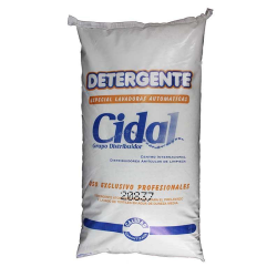 Detergente en polvo Cidal  20Kg