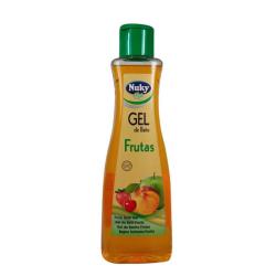 Gel de baño Nuky aroma a frutas750ml