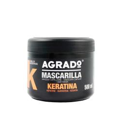 Mascarilla Capilar Keratina AGRADO 500ml