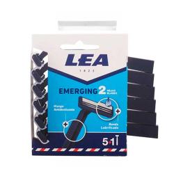 Maquinilla afeitar 2 hojas Lea Emerging 6UDS
