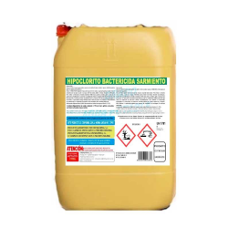 Hipoclorito bactericida alimentarios Sarmiento 32L