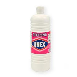 Acetona disolvente pinturas y esmaltes Unex 1L