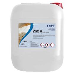 Blanqueante líquido oxigenado Cidal Oximat 22kg