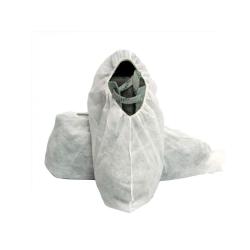 Cubrezapatos de propileno blanco con eslástico
