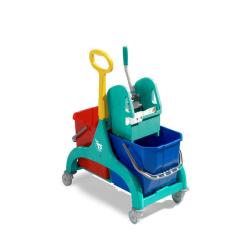 Carro de limpieza TTS Nick Tec doble  2x25L
