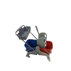 Carro de limpieza Lytec prensa lujo cubeta 2x25L