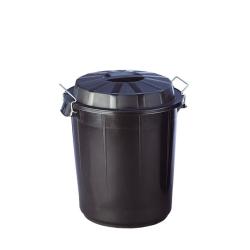 Cubo de residuos con tapa Denox 50L 1ud