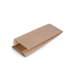 Bolsa para bocadillos de papel Kraft 22cm 1000 uds