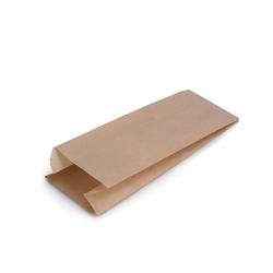Bolsa para bocadillos de papel Kraft 9cm 1000 uds