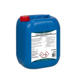 Hipoclorito sódico potablilización de agua 24kg